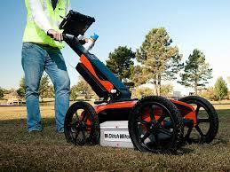 Gepard GPR ground penetrating radar Applications and functionality
