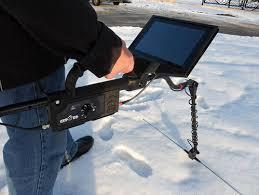 Ground penetrating radar with Android laptop