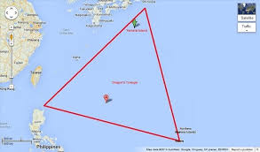 where is the dragons triangle located